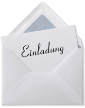 Einladungsschreiben